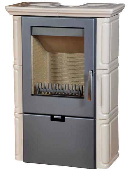THORMA Kachelofen »Landshut II«, 8 kW, grau/beige