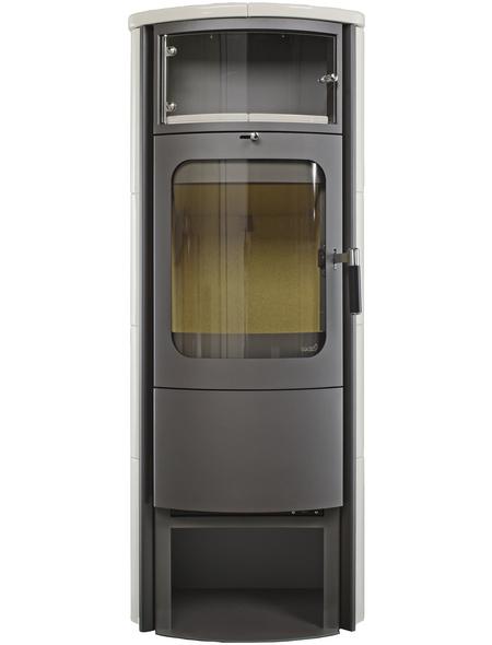 HARK Kachelofen »Opera B Grande«, 5 kW, cremeweiß/titan