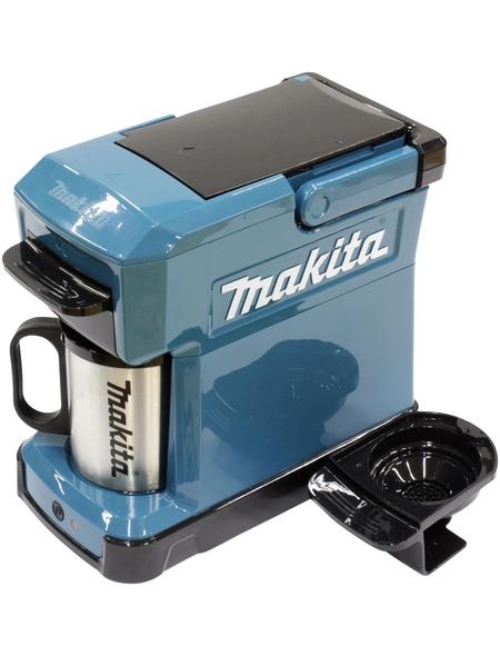 MAKITA Kaffeemaschine, akkubetrieben, türkis/schwarz
