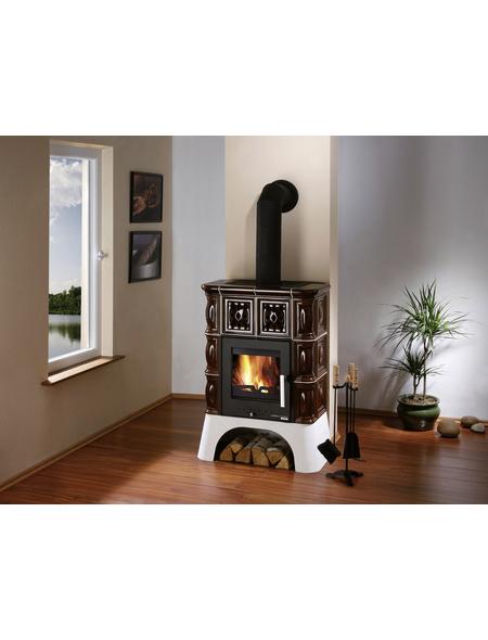 HAAS & SOHN Kaminofen »Treviso II«, Keramik, 8 kW
