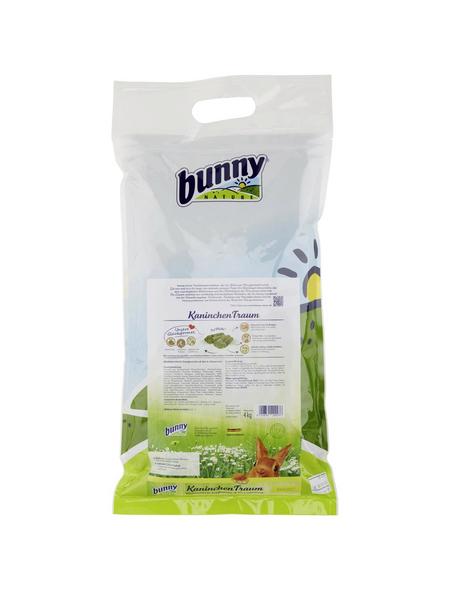 BUNNYNATURE Kaninchenfutter »KaninchenTraum«, für Für Zwergkaninchen ab dem 6. Lebensmonat, 4000 g