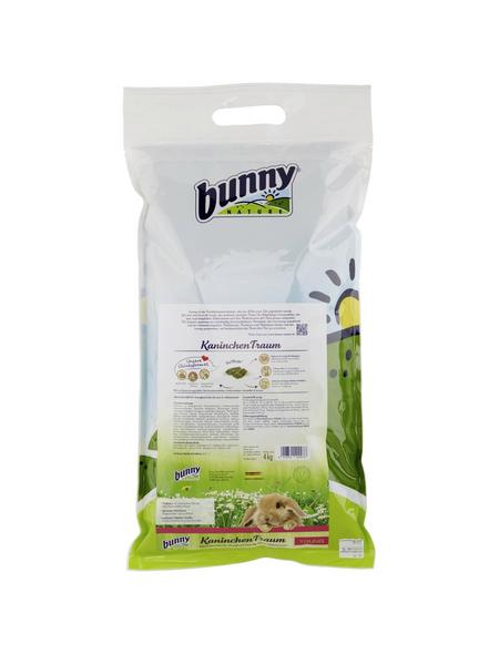 BUNNYNATURE Kaninchenfutter »KaninchenTraum«, für Zwergkaninchen bis zum 6. Lebensmonat, 4000 g
