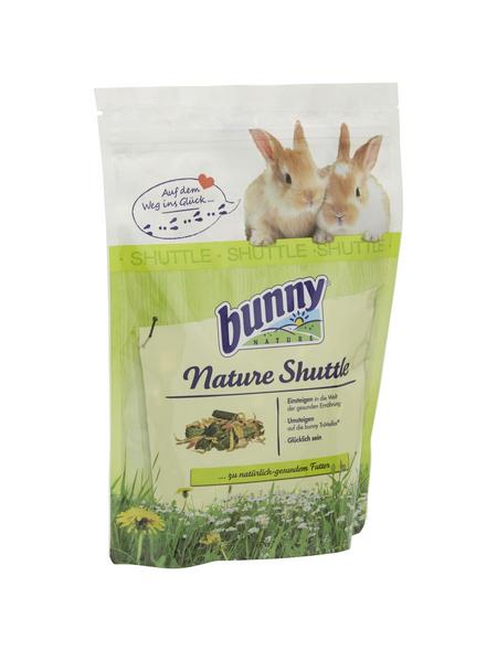 BUNNYNATURE Kaninchenfutter »Nature Shuttle«, für Zwergkaninchen ab dem 6. Lebensmonat, 600 g