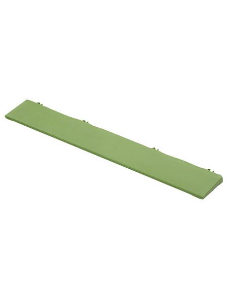 Kantenleisten, grün, LxHxB: 37 x 1 x 37 cm