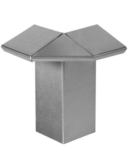 FLORAWORLD Kantenstein, BxHxL: 6,5 x 18 x 6,5 cm, Stahl