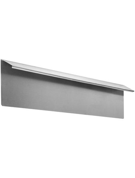 FLORAWORLD Kantenstein, HxL: 18 x 100 cm, Stahl