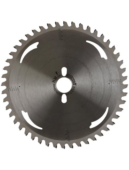WOLFCRAFT Kapp-und Gehrungssägeblatt, Durchmesser, 250 mm, Bohrdurchmesser 30 mm, 40 Zähne