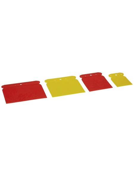 NIGRIN Karosseriespachtel-Set, Gelb | Orange, 5 - 12 cm, 4-tlg.