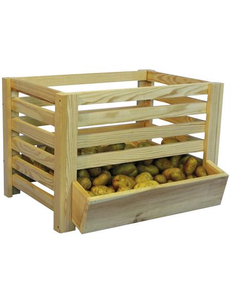 FLORAWORLD Kartoffelhorde, BxHxL: 50 x 40 x 60 cm, Holz
