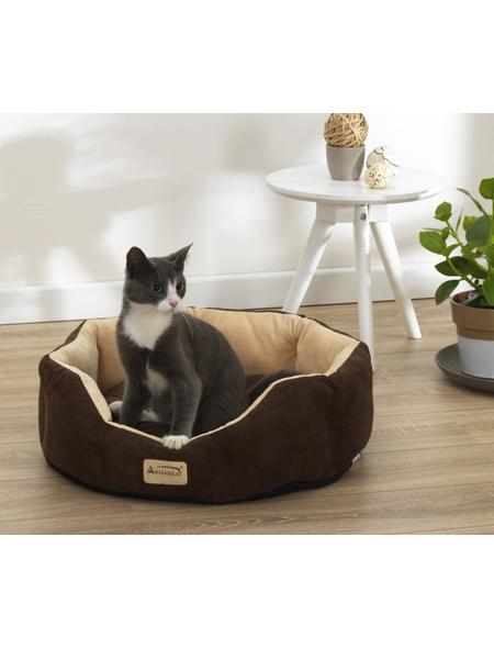 Katzen-Bett, beige