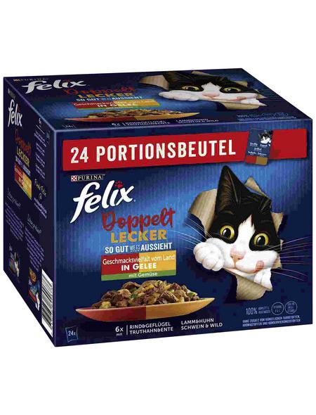 FELIX Katzen-Nassfutter