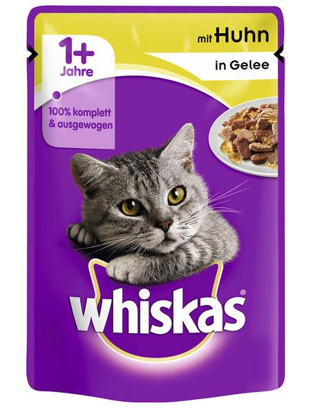 WHISKAS Katzen Nassfutter »1+ Jahre«, 24 Beutel à 100 g