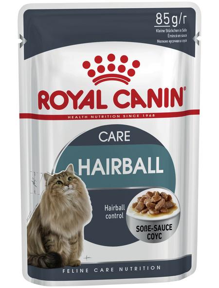 ROYAL CANIN Katzen-Nassfutter, 1 x FHN Pouch HAIRBALL CARE in Soße