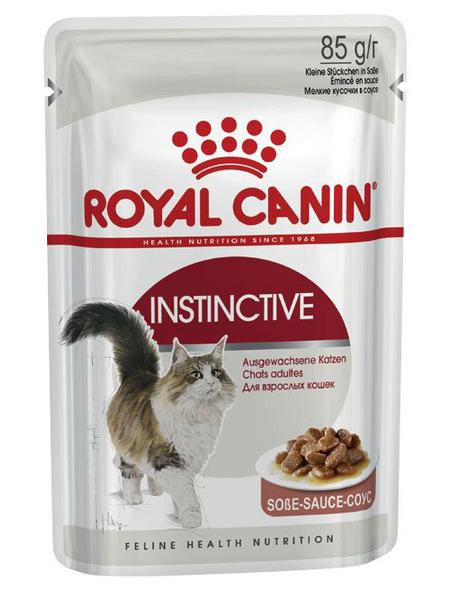 ROYAL CANIN Katzen-Nassfutter, 1 x FHN Pouch INSTINCTIVE