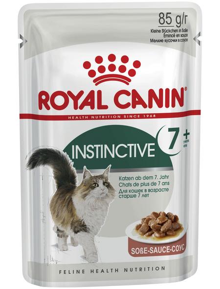ROYAL CANIN Katzen-Nassfutter, 1 x FHN Pouch Instinctive + 7