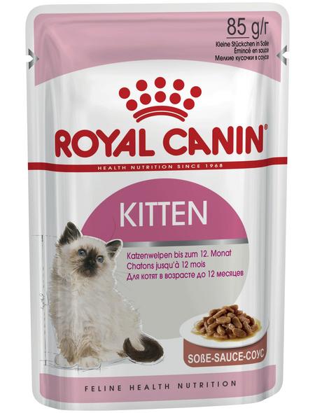 ROYAL CANIN Katzen-Nassfutter, 1 x FHN Pouch Kitten Instinctive
