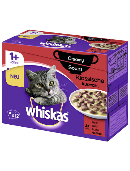 WHISKAS Katzen-Nassfutter, 1020 g
