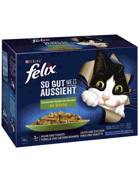 FELIX Katzen-Nassfutter, 1020 g