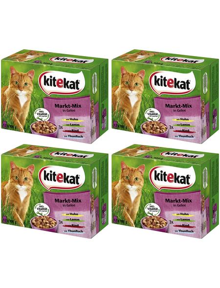 Katzen-Nassfutter, 1200 g