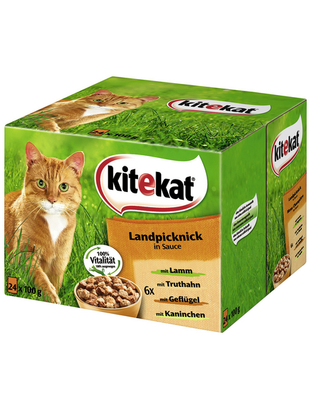 Katzen-Nassfutter, 2400 g