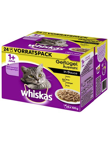 WHISKAS Katzen-Nassfutter, 2400 g