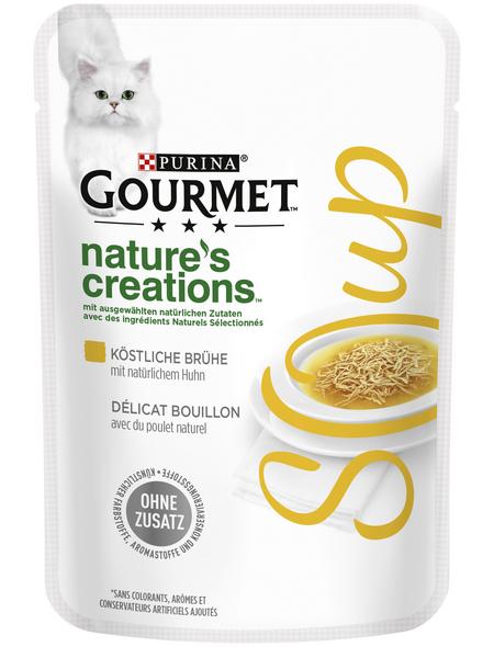GOURMET Katzen-Nassfutter, 40 g, Huhn