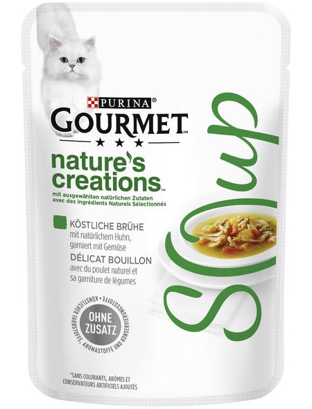 GOURMET Katzen-Nassfutter, 40 g, Huhn/Gemüse