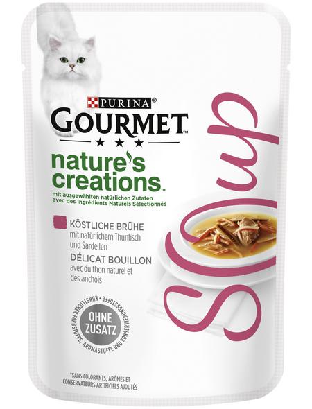 GOURMET Katzen-Nassfutter, 40 g, Thunfisch/Sardinen
