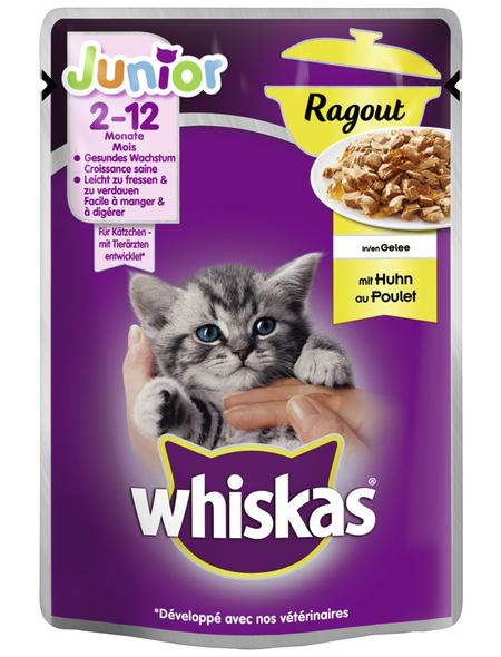 WHISKAS Katzen-Nassfutter, 85 g
