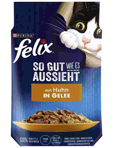 FELIX Katzen-Nassfutter, 85 g
