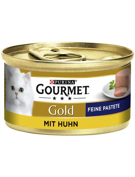 GOURMET Katzen-Nassfutter, 85 g, Huhn