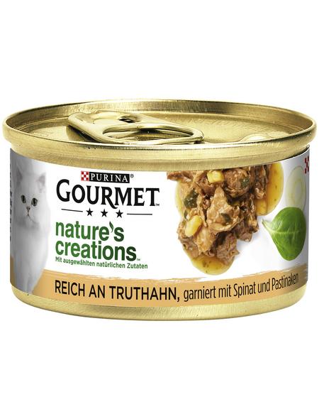GOURMET Katzen-Nassfutter, 85 g, Truthahn