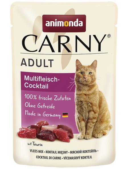 CARNY® Katzen-Nassfutter »Adult«, 85 g