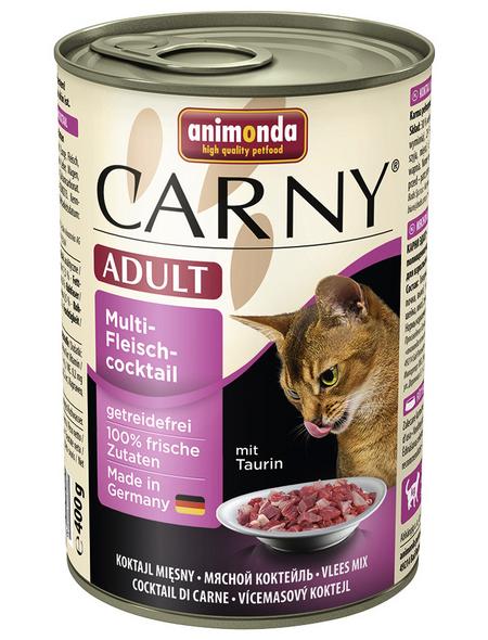 CARNY® Katzen-Nassfutter »Adult«, Fleisch, 400 g