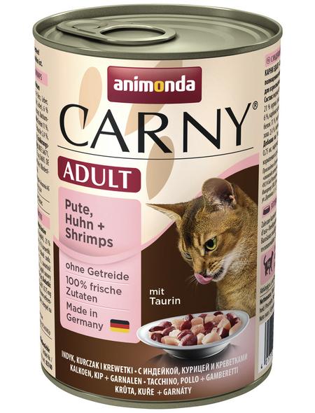 CARNY® Katzen-Nassfutter »Adult«, Huhn, 400 g