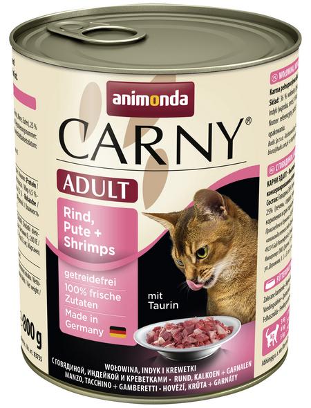 ANIMONDA Katzen Nassfutter »Carny «, 6 Dosen à 800 g