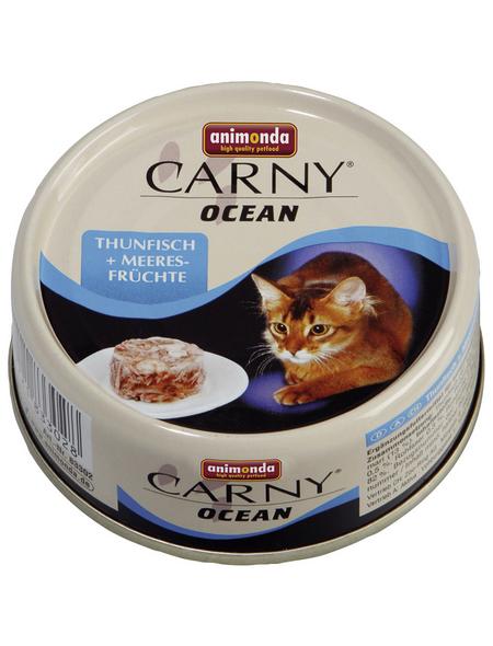 ANIMONDA Katzen Nassfutter »Carny Ocean«, Thunfisch / Meeresfrüchte, 12x80 g
