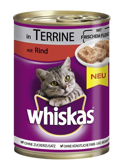 WHISKAS Katzen-Nassfutter »DS 1+«, 400 g