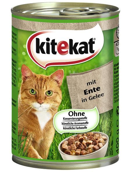 Katzen-Nassfutter, Ente, 400 g