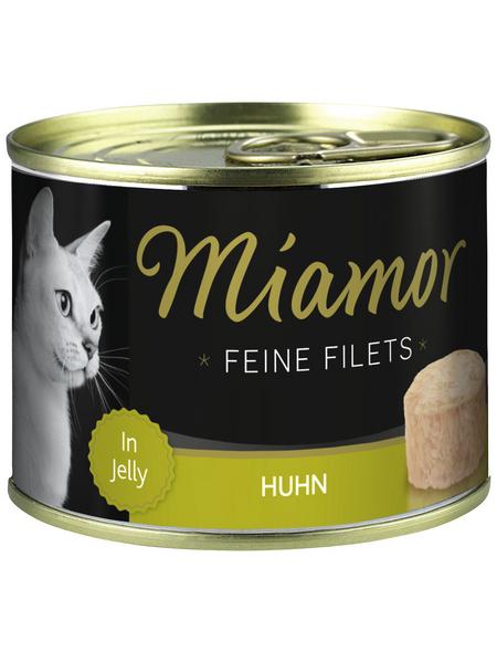 MIAMOR Katzen Nassfutter »Feine Filets in Jelly«, Huhn, 12x185 g