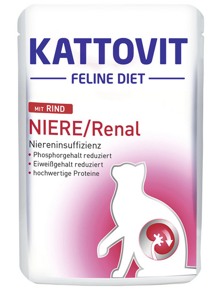 KATTOVIT Katzen Nassfutter »Feline Diet«, 24 Beutel à 85 g