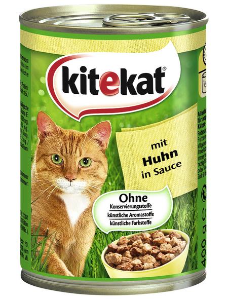 Katzen-Nassfutter, Huhn, 400 g