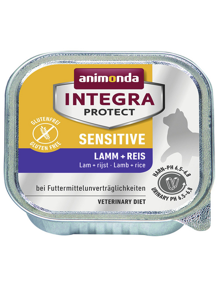 ANIMONDA Katzen Nassfutter »Integra Protect «, 16 Schalen à 100 g