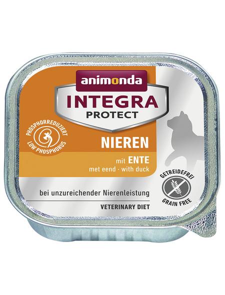 ANIMONDA Katzen Nassfutter »Integra Protect «, Ente, 16 x 100 g