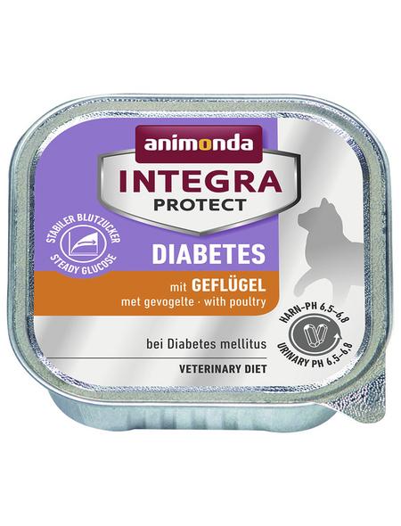 ANIMONDA Katzen Nassfutter »Integra Protect «, Geflügel, 16x100 g