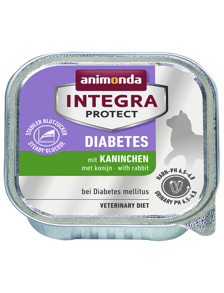 ANIMONDA Katzen Nassfutter »Integra Protect «, Kaninchen, 16x100 g