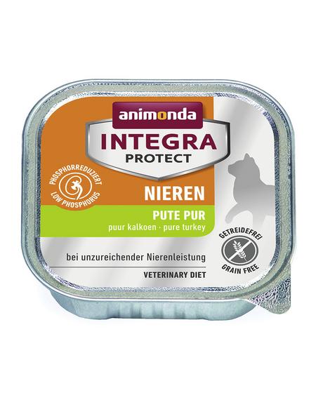 animondo Katzen Nassfutter »Integra Protect «, Pute, 16x100 g