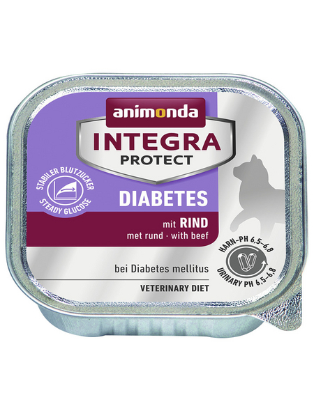 animondo Katzen Nassfutter »Integra Protect «, Rind, 16x100 g