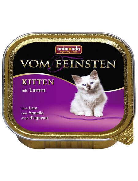 VOM FEINSTEN Katzen-Nassfutter »Kitten«, Lamm, 100 g