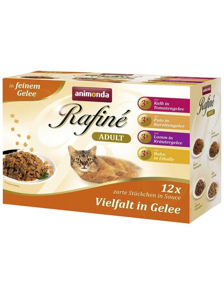 ANIMONDA Katzen Nassfutter »Rafiné«, 4 Kartons à 1200 g